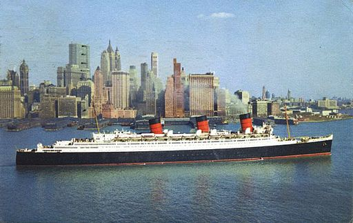 Ghosts:  Ghosts of the Queen Mary!